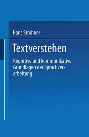 Textverstehen af Hans Strohner