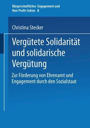 Vergutete Solidaritat und solidarische Vergutung af Christina Stecker