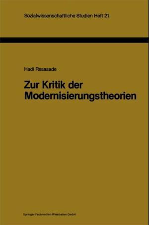 Zur Kritik der Modernisierungstheorien af Hadi Resasade