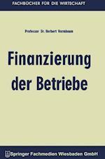 Finanzierung Der Betriebe af Herbert Vormbaum