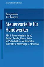 Steuervorteile fur Handwerker af Georg Amann