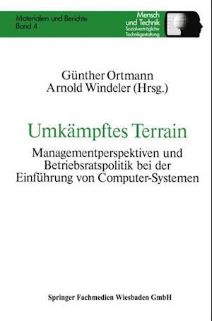 Umkampftes Terrain af Arnold Windeler, Gunther Ortmann