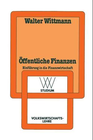 Offentliche Finanzen af Walter Wittmann