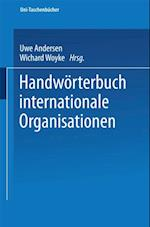 Handworterbuch Internationale Organisationen