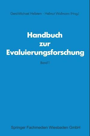 Handbuch zur Evaluierungsforschung af Hellmut Wollmann, Gerd M Hellstem