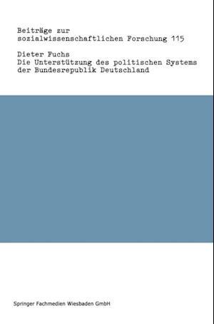 Die Unterstutzung des politischen Systems der Bundesrepublik Deutschland