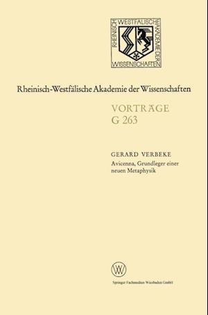 Avicenna, Grundleger einer neuen Metaphysik af Gerard Verbeke