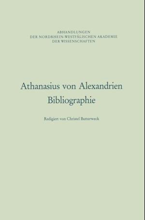Athanasius von Alexandrien af Christel Butterweck