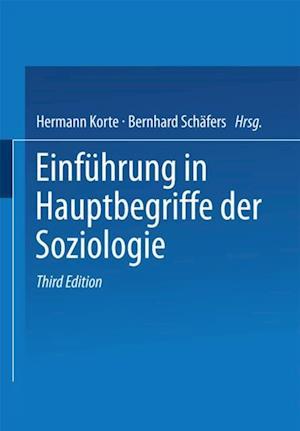 Einfuhrung in Hauptbegriffe der Soziologie