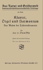 Klavier, Orgel Und Harmonium af Oscar Bie