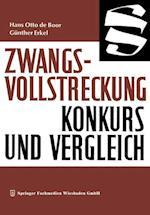 Zwangsvollstreckung Konkurs Und Vergleich (Die Wirtschaftswissenschaften, nr. )