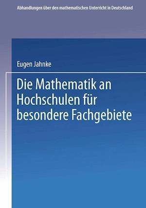 Die Mathematik an Hochschulen für Besondere Fachgebiete