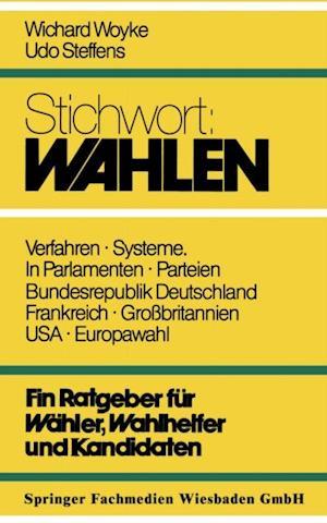 Stichwort: Wahlen af Wichard Woyke