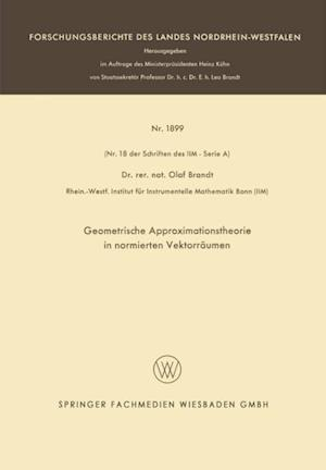 Geometrische Approximationstheorie in normierten Vektorraumen