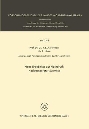 Neue Ergebnisse zur Hochdruck-Hochtemperatur-Synthese af A. Neuhaus, E. Hinze