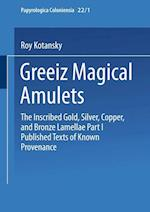 Greek Magical Amulets af Roy Kotansky