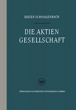 Die Aktiengesellschaft af Eugen Schmalenbach