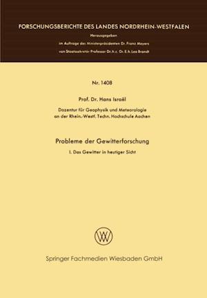 Probleme der Gewitterforschung af Hans Israel