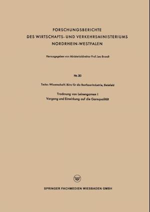 Trocknung von Leinengarnen I af Techn.-Wissenschaftl. Buro die Bastfaserindustrie
