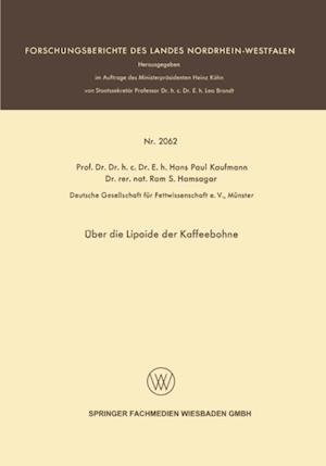 Uber die Lipoide der Kaffeebohne af Hans Paul Kaufmann