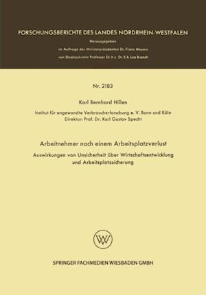 Arbeitnehmer nach einem Arbeitsplatzverlust af Karl Bernhard Hillen