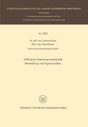 Infiltrierte Sintereisenwerkstoffe af Gerhard Zapf