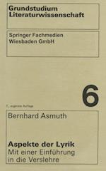 Aspekte der Lyrik af Bernhard Asmuth