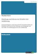 Hamburg Und Altona Im Zeitalter Der Aufklarung