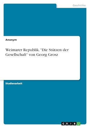 Bog, paperback Weimarer Republik.