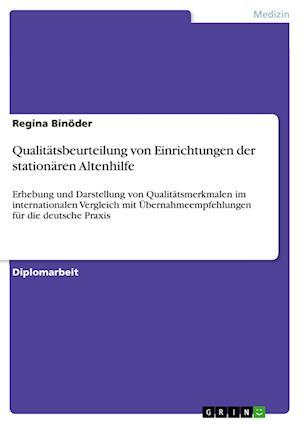 Qualitatsbeurteilung Von Einrichtungen Der Stationaren Altenhilfe