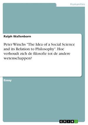 Bog, paperback Peter Winchs