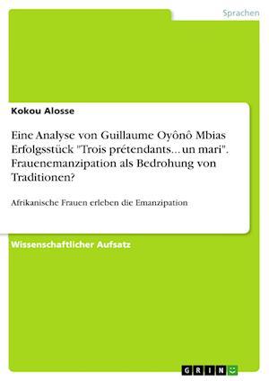 Bog, paperback Eine Analyse Von Guillaume Oyono Mbias Erfolgsstuck