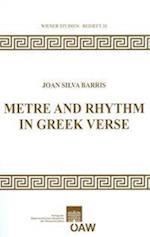Metre and Rhythm in Greek Verse af Joan Silva Barris
