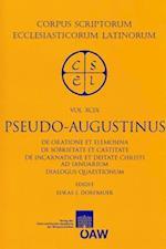 Pseudo-Augustinus (Corpus Scriptorum Ecclesiasticorum Latinorum)