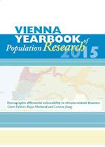 Vienna Yearbook of Population Research / Vienna Yearbook of Population Research 2015 (Vienna Yearbook of Population Research, nr. 12)
