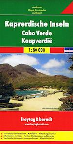 Cape Verde Islands, Freytag & Berndt Road Map