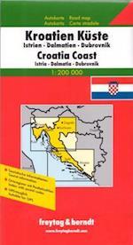 Kroatien Küste, Freytag & Berndt Autokarte 1:200 000