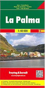 La Palma, Freytag & Berndt Road & Leisure Map