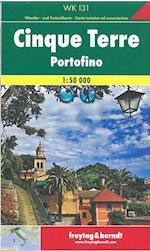 Cinque Terre Portofino, Freytag & Berndt Hiking Map (Freytag & Berndt Hiking Map)