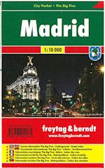 Madrid, Freytag & Berndt City Pocket + The Big Five (Freytag & Berndt)