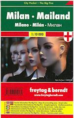 Milan - Milano City Pocket + Big Five (Freytag & Berndt city map)