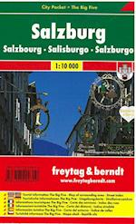 Salzburg City Pocket + The Big Five (Freytag Berndt City Pocket The Big Five)