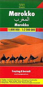 Morocco, Freytag & Berndt Road Map (Freytag & Berndt Road Map)