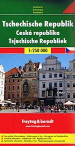 Czech Republic Road Map, Freytag & Berndt (Freytag & Berndt Road Map)
