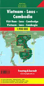 Vietnam Laos Cambodia, Freytag & Berndt Road Map (Freytag & Berndt Road Map)