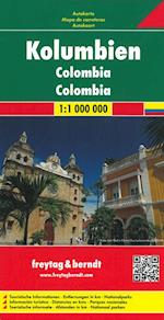 Colombia, Freytag & Berndt Road Map (Freytag & Berndt Road Map)