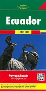 Ecuador & Galapagos, Freytag & Berndt Autokarte (Freytag & Berndt Road Map)