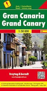 Gran Canaria, Freytag & Berndt Road + Leisure Map (Freytag & Berndt Road Map)