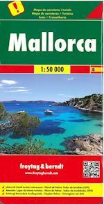 Mallorca, Freytag & Berndt Road & Leisure Map af Berndt, Freytag
