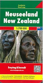 New Zealand, Freytag & Berndt Road Map (Freytag & Berndt Road Map)